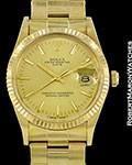ROLEX VINTAGE 1503 DATE AUTOMATIC 18K GOLD