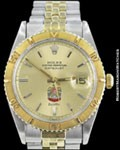 ROLEX DATEJUST THUNDERBIRD 1625 14K/STEEL UNITED ARAB EMIRATES 1968