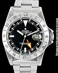 ROLEX VINTAGE EXPLORER II 1655 STEVE MCQUEEN STRAIGHT SECONDS