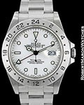 ROLEX TIFFANY EXPLORER II 16570 UNPOLISHED STEEL AUTOMATIC