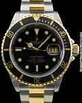 ROLEX 16613 SUBMARINER BLACK DIAL