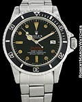 ROLEX VINTAGE SEA-DWELLER 1665 DOUBLE RED MARK 3 DIAL 1972