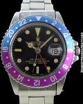 """ROLEX REF 1675 GMT PEPSI """"FUSCIA"""" MK2 CIRCA 1966"""