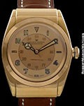 ROLEX BUBBLE BACK 1685/3065 18K TWO TONE CHAMPAGNE DIAL