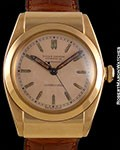 ROLEX BUBBLE BACK 3065 18K ROSE HOODED LUGS BUCHERER'S