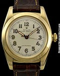 ROLEX BUBBLE BACK 3131 UNPOLISHED 14K