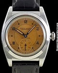 ROLEX BUBBLE BACK 3135 TWO TONE DIAL STEEL