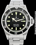 ROLEX VINTAGE 5512 SUBMARINER BLACK DIAL AUTOMATIC 1967