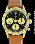 "ROLEX VINTAGE DAYTONA 6239 18K CHERRY RED ""DAYTONA"" 1969"
