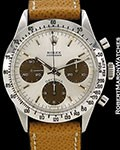 ROLEX VINTAGE DAYTONA 6262 TROPICAL STEEL CHRONOGRAPH 1970