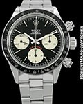 ROLEX VINTAGE DAYTONA 6263 CHRONOGRAPH BIG RED SIGMA BOX PAPERS 1973