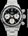 ROLEX 6263 DAYTONA BIG RED STEEL BOX & PAPERS 1975