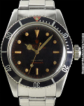 ROLEX REF 6538 SUBMARINER BIG CROWN TROPICAL-PRINT CIRCA 1958