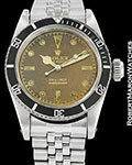 ROLEX VINTAGE SUBMARINER 6538 TROPICAL BIG CROWN JAMES BOND 1959