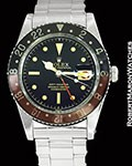 ROLEX VINTAGE GMT MASTER 6542 MINT ORIGINAL AUTOMATIC 1958