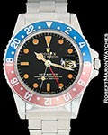 ROLEX VINTAGE GMT MASTER 1675 STEEL AUTOMATIC