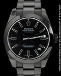 ROLEX 116400 MILGAUSS PVD BLACK STEEL