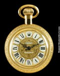 ROLEX POCKET WATCH SHAPED PERFUME BOTTLE