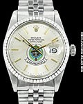 ROLEX DATEJUST 1603 SAUDI ARMED FORCES W/ ROLEX SERVICE PAPERS
