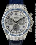 ROLEX 116519 DAYTONA SAPPHIRE DIAMONDS 18K