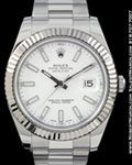 ROLEX 116334 DATEJUST II 41MM STEEL