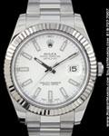 ROLEX 116334 DATEJUST II 41MM STEEL