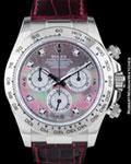 ROLEX 116519 DAYTONA CHRONOGRAPH DIAMONDS 18K