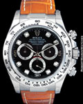 ROLEX 116519 DAYTONA 18K WHITE GOLD BOX DOUBLE PAPERS