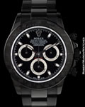 ROLEX 116520  DAYTONA BLACK OUT BAMFORD PVD STEEL