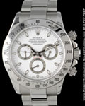 ROLEX COSMOGRAPH DAYTONA 116520 STAINLESS STEEL WHITE DIAL