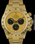 ROLEX 116528 DAYTONA CHRONOGRAPH 18K BOX & PAPERS
