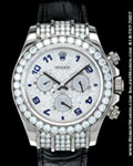 ROLEX DAYTONA 116599 WG PAVE DIAMONDS