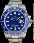 ROLEX 116619 SUBMARINER DIAMONDS 18K