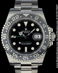 ROLEX 116710 GMT MASTER CERAMIC STEEL