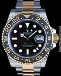 ROLEX 116713 GMT MASTER II CERAMIC 18K STEEL