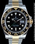 ROLEX 116713 GMT CERAMIC GOLD/STEEL