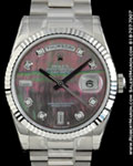 ROLEX 118239 DAY DATE PRESIDENT MOTHER OF PEARL DIAMONDS 18K
