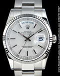 ROLEX OYSTER PERPETUAL DAY-DATE 118239 18K WHITE GOLD