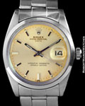ROLEX 1500 OYSTER PERPETUAL DATE STEEL