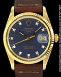 ROLEX 15037 DATE DIAMONDS 14K FORD PRESENTATION WATCH