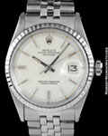 ROLEX 1603 DATEJUST STEEL BOX PAPERS