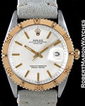 ROLEX 1625 DATEJUST TURN-O-GRAPH STEEL GOLD