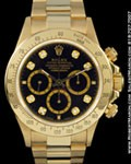 ROLEX 16528 DAYTONA DIAMONDS 18K