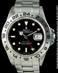 ROLEX EXPLORER II 16550 STEEL TIFFANY DIAL
