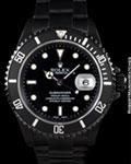 ROLEX SUBMARINER 16610 BLACK DLC STAINLESS STEEL