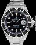 ROLEX 16610 SUBMARINER STEEL