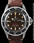 ROLEX 1665 SEA DWELLER PATENT PENDING DOUBLE RED STEEL