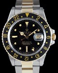 ROLEX 1675 GMT MASTER GOLD STEEL
