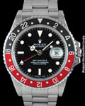 ROLEX 16760 GMT MASTER II FAT LADY STEEL