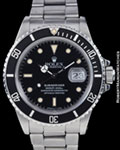 ROLEX 168000 SUBMARINER STEEL